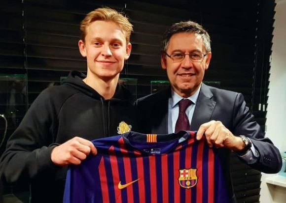 Barca chief Bartomeu has already sealed a deal for De Jong