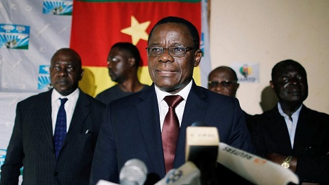 Cameroon's opposition leader Maurice Kamto