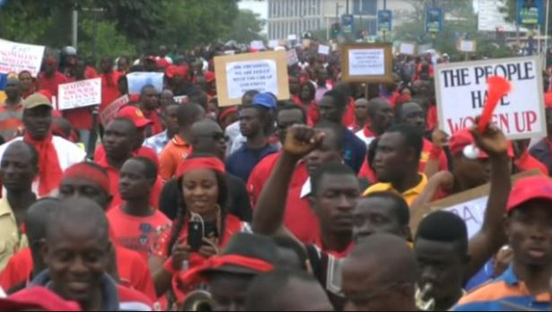 Demonstration, Ghana Political News Report Articles