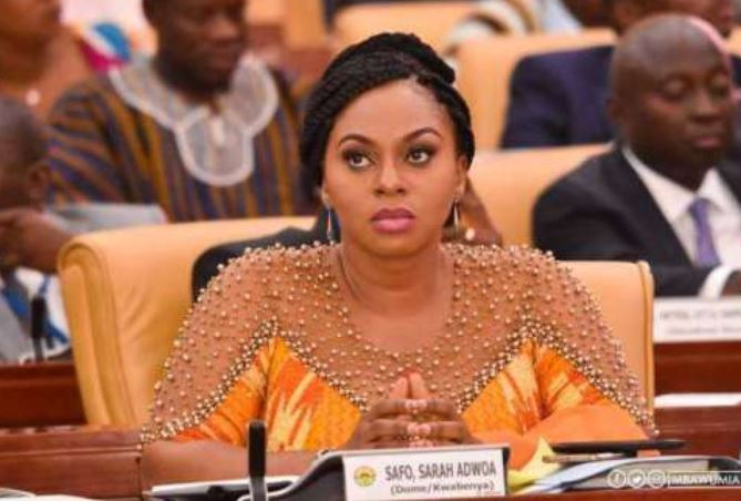 Deputy Majority Leader, Sarah Adwoa Safo, Ghana Political News Report Articles