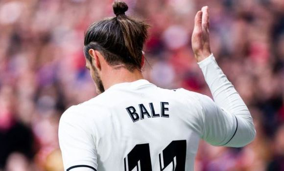 Gareth Bale was playing his 100th game for Real Madrid against Atletico