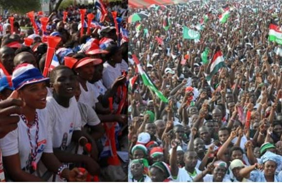 NPP and NDC supporters