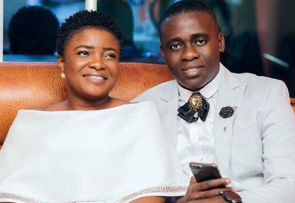 Ohemaa Mercy and husband, Isaac Twum-Ampofo