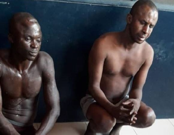 Two of the suspected robbers