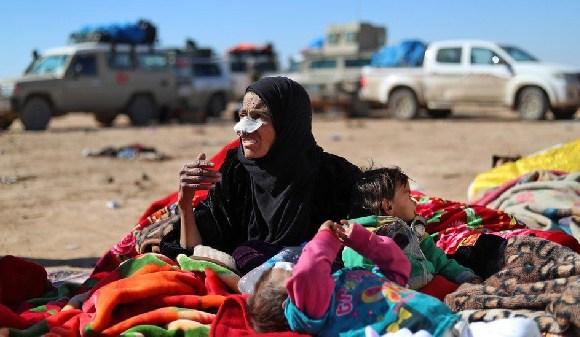 Women and children are mostly affected during war