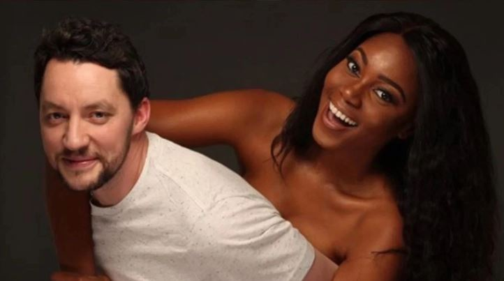Yvonne Nelson and Jamie Roberts