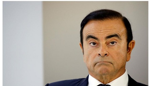 Former boss of Nissan, Carlos Ghosn