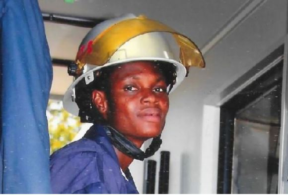 Grace Fosu was fired for getting pregnant in her first 3 years in to the Ghana National Fire Service