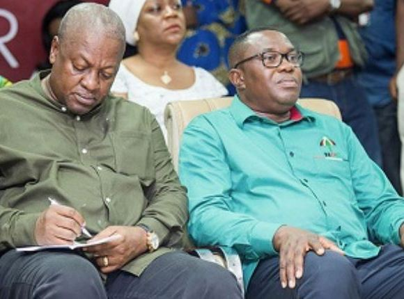 John Mahama explains 'Ofosu Ampofo's comments' on leaked tape
