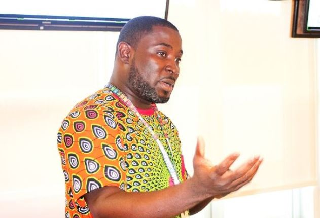 Kingsley Bekoe, Programme Specialist at the UNDP, speaking at the event