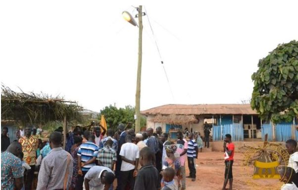 Kwahu East connected to national grid