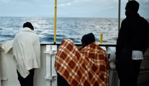 Last year, more than 60,000 migrants sailed to Europe
