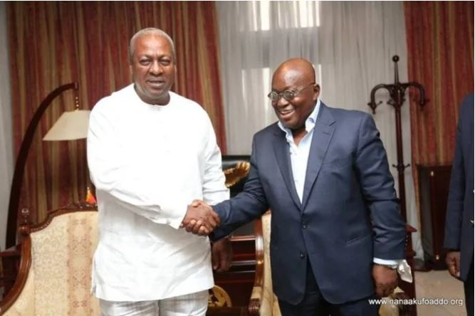 Mahama and Akufo-Addo1