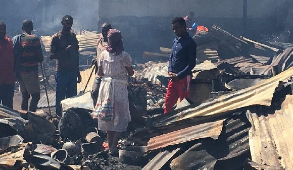 Photos shared on social media show extensive damage across the affected areas