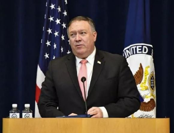 Report was presented by US Secretary of State, Mike Pompeo