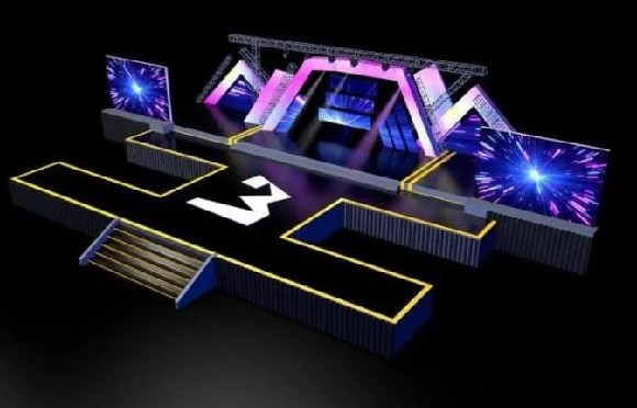 The 3D stage design