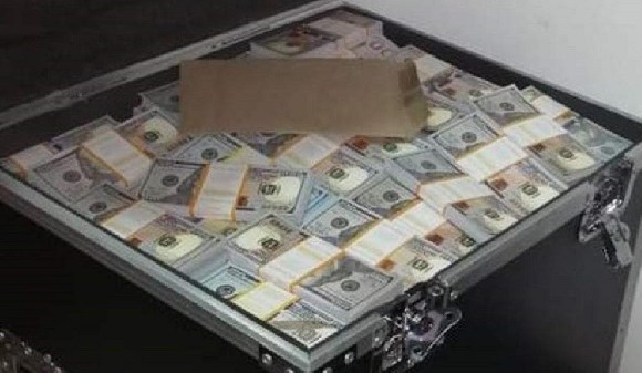 The fake notes in 100 dollar denominations were recovered from the bank's safe room