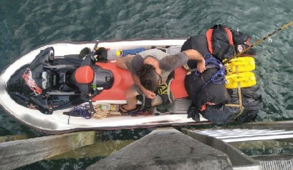 The man had left from the northern tip of Australia's mainland, police say