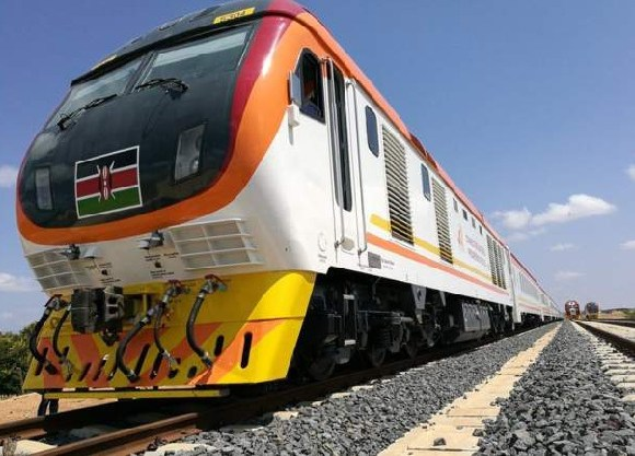 The railway line was Kenya's biggest infrastructure project since independence