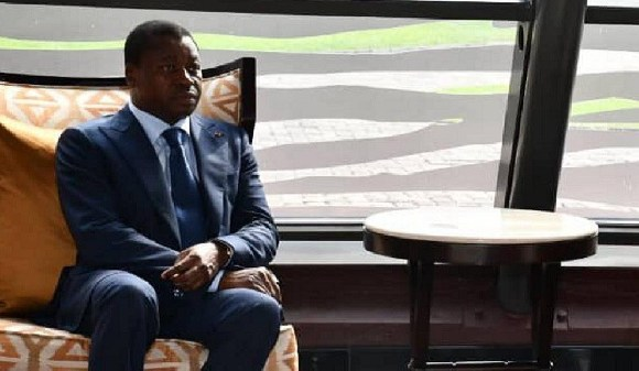 Togolese president Faure Gnassingbe