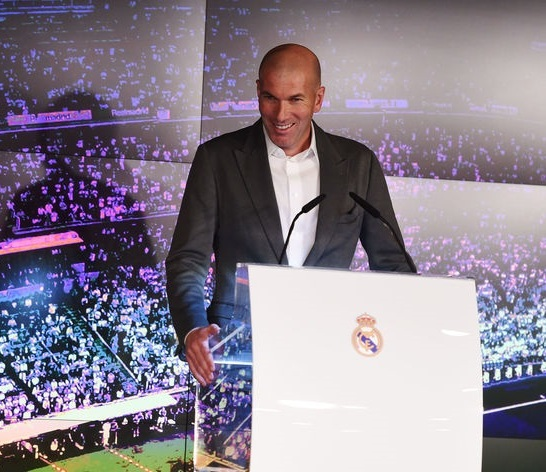 Zidane unveil