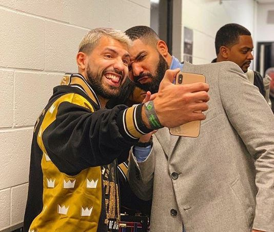 Aguero and Drake