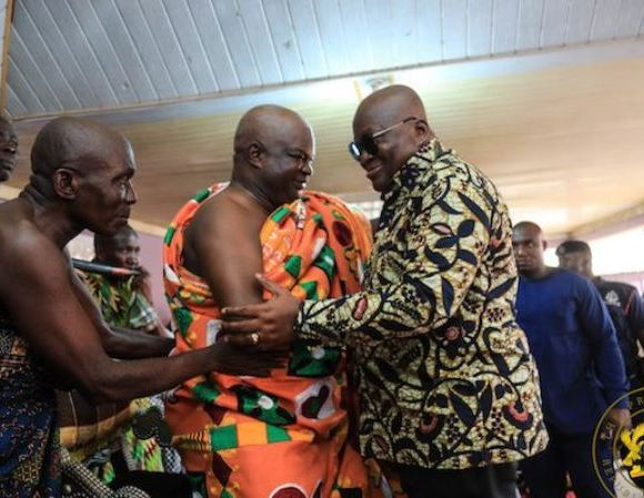 Akufo-Addo and Sefwi chiefs