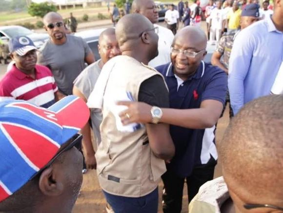 Bawumia and Sammy Awuku