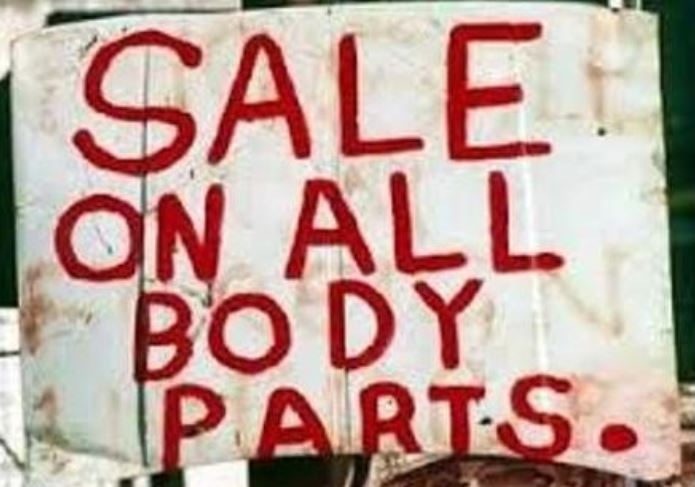 Body parts on sale