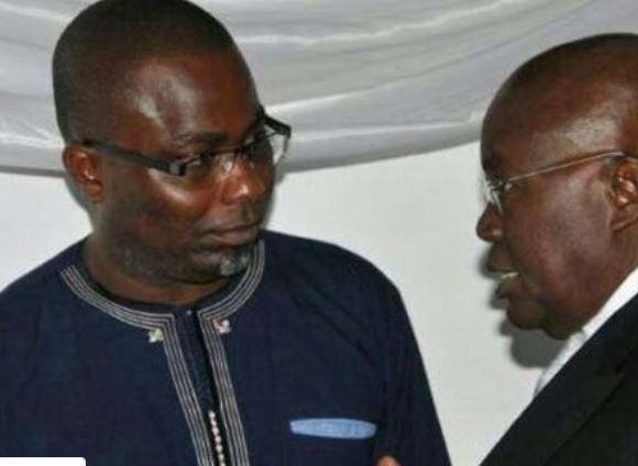 Charles Bissue and Akufo-Addo