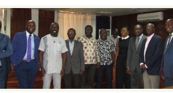 EC ROPAA Committee Members and Diaspora Delegation after the engagement