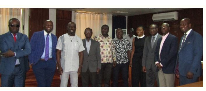EC ROPAA Committee Members and Diaspora Delegation after the engagement, Ghana Political News Report Articles
