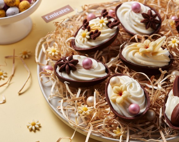 From 21 – 22 April, all seven Emirates lounges at Dubai International Airport and most of the airline's dedicated Emirates lounges around the world will also introduce Easter specials_