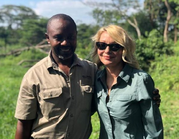 Jean-Paul Mirenge (left) and Kimberly Endicott were kidnapped last week and taken to the