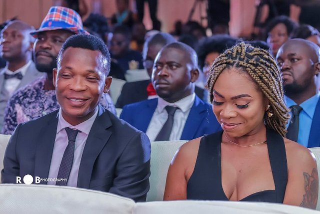 John Paintsil and Shatta Michy
