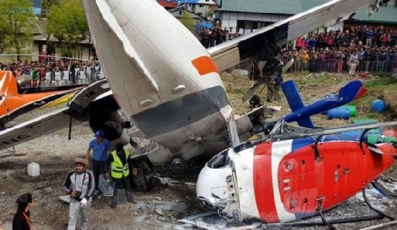 Nepal airpot is regarded as one of the world's most dangerous airports