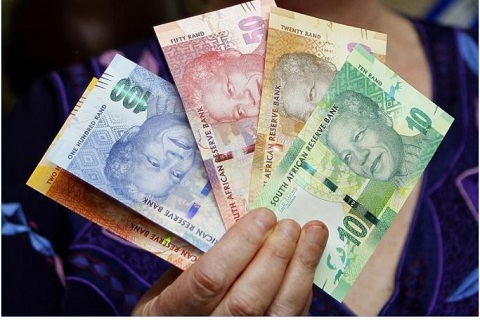 South African currency, Rand