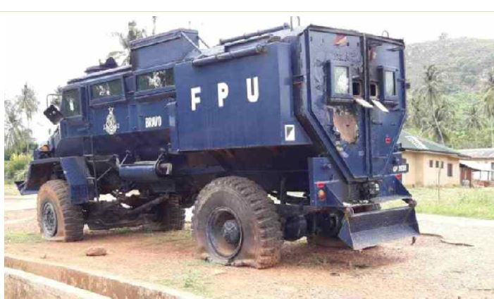 Special purpose vehicle for police