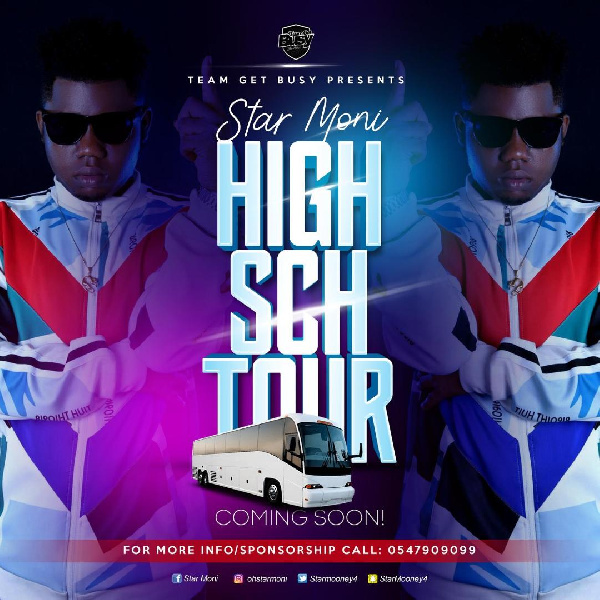 The artwork for the highy school tour