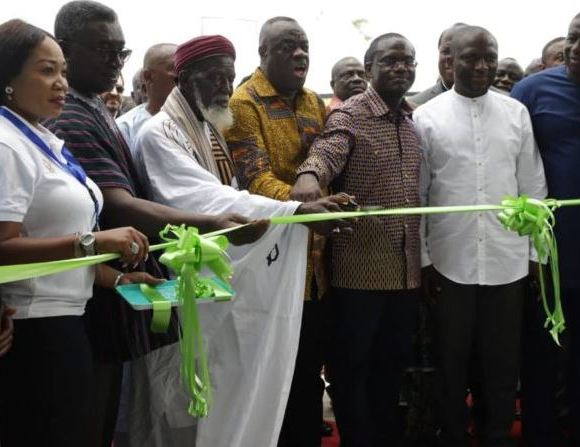 Zoomlion launches plant in Accra