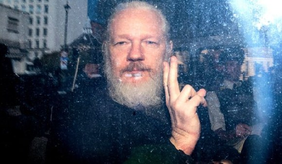 Assange was arrested in London last month after Ecuador abruptly withdrew its protection