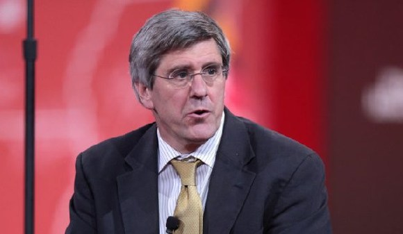 Conservative pundit Stephen Moore was criticised for making sexist comments