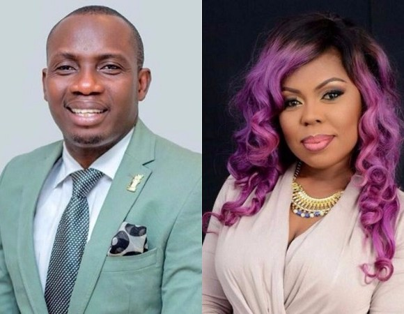 Councellor George Lutterodt and Afia Schwarzenegger