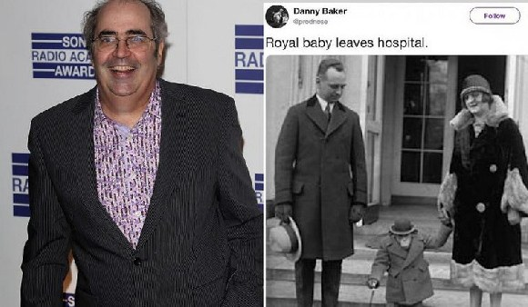 Danny Baker and his royal baby tweet