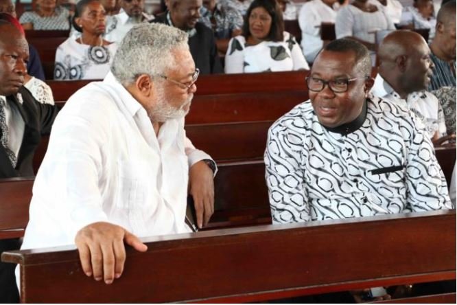 Rawlings and Ofosu Ampofo, Ghana Political News Report Articles
