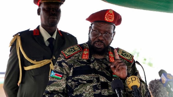 South Sudan's President, Salva Kiir