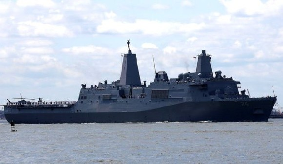 The USS Arlington will join the USS Abraham Lincoln in the Gulf
