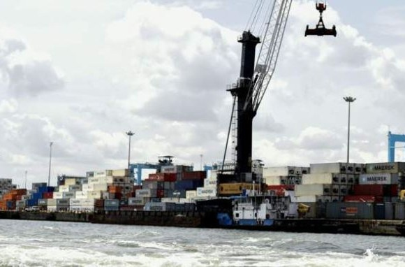 The blocked roads have an impact on the efficiency of Lagos' ports