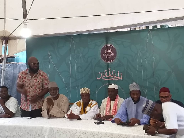 VVIP with some key stakeholders during the launch of Sallahfest 2019