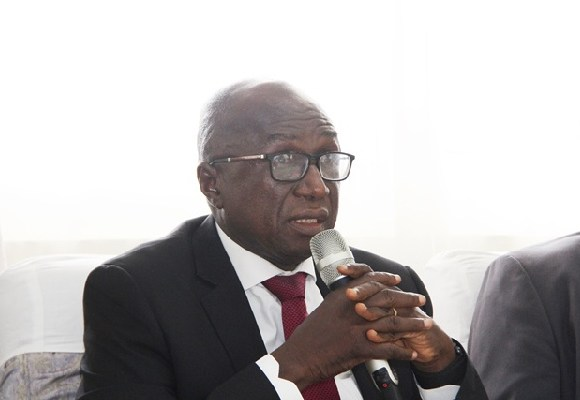 Ambrose Dery, the Minister of the Interior